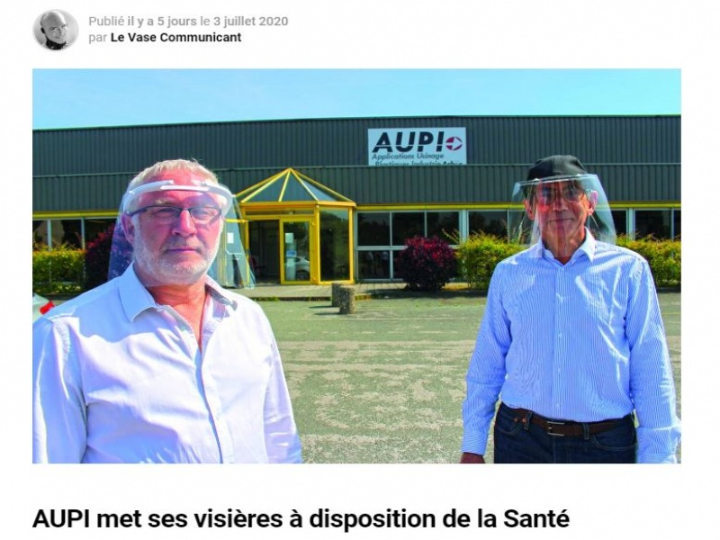 Article Le Vase Communicant